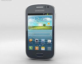 3D model Samsung Galaxy Fame Blue