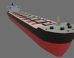 Ship Bulk Carrier - Cargo - Navio Graneleiro 3D asset