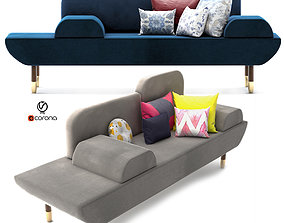 3D Modern cube sofa