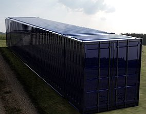 53FT ISO Shipping Container 3D