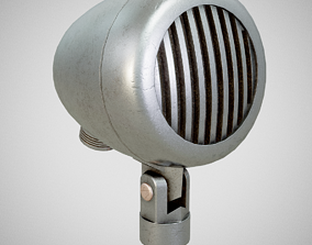 3D model Microphone - American D5T Used