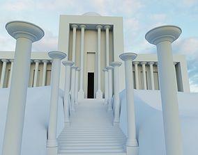 An ancient temple 3dmodel