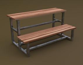 Tribune 02 R 3D asset