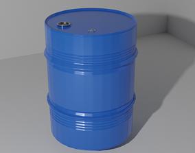 Barrel 3D model barrel storage