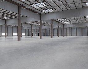 3D model Factory Hall Interior 7