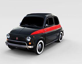 Fiat Nuova Sport 500 1958 rev 3D model