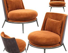 Cantori AURORA armchair 3D model