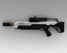 The boring company flamethrower 3D model