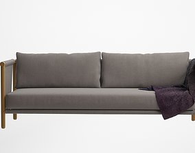 3D LAX Series Trestles Sofa