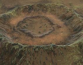 3D Crater 7
