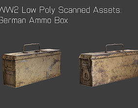 WW2 German Ammo Box 3D model