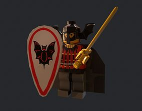 Lego Basil The Bat Lord 3D model