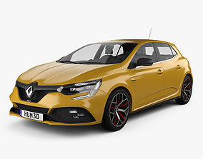 Renault Megane RS Trophy 300 hatchback 2018 3D model