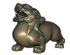 Quod Xiu 3D print model statue