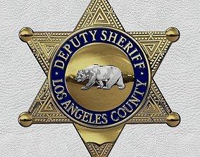 3D print model Los Angeles County Deputy Sheriffs