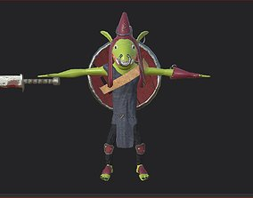 3D model VR / AR ready Goblin
