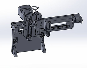3D model Motor and cylinder dual drive mechanism device
