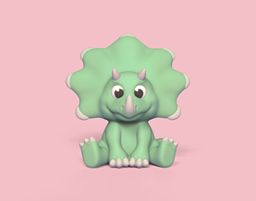 3D printable model Cute Triceratops