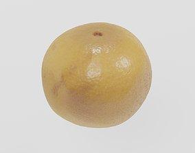 Fruit 6 Grapefruit 3D scan PBR 4K textures low-poly