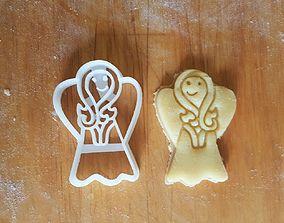 3D printable model Angel cookie cutter version 1