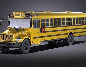3D IC CE Series Schoolbus 2017 VRAY