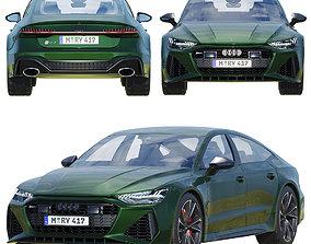 Audi RS7 engine 3D