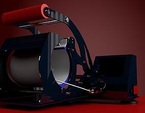 MUG PRINTING HEAT PRESS MACHINE 3D model
