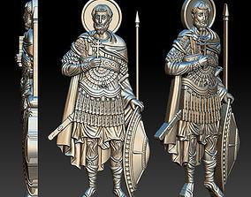 Ioann the Warrior Icon 3D printable model