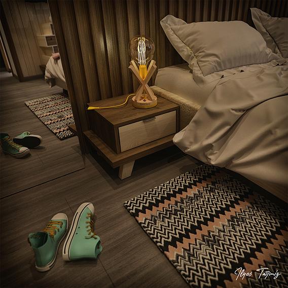 M.A.T I Bedroom