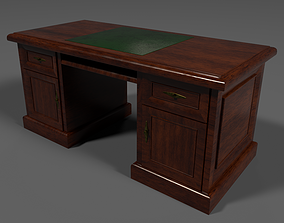 3D asset Cabinet Table