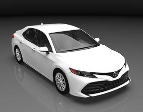 3D model 2019 Toyota Camry Hybrid