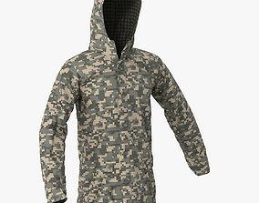 3D model Mens Rain Jacket