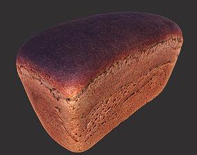 Soviet Brick Bread 3D asset