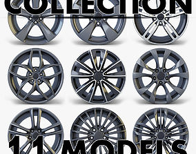 3D Car Rim Wheel Collection volume 2