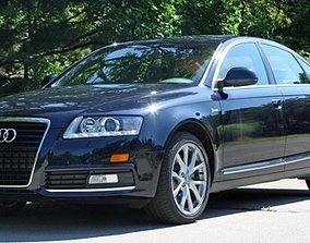 Audi A6 Rigged 3D asset