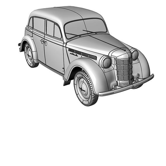 Moskvich 400 model 1/18