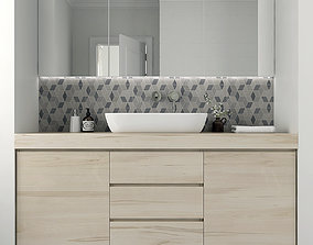 3D model Furniture and decor for bathrooms 5