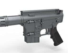 3D model Blaster pistol A280-CFE from the movie Rogue One