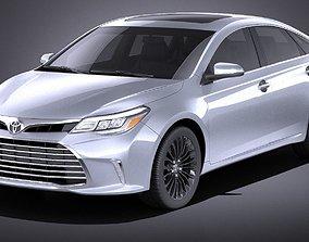 Toyota Avalon 2018 VRAY 3D