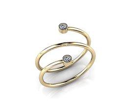 Jewelry Ring 3D print model women
