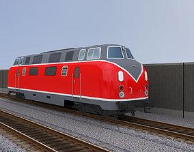 3D asset Diesel Locomotive 1