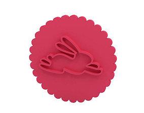 Cookie stamp - Stamp design 3D print model