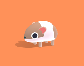 3D asset Hola the Hamster - Quirky Series