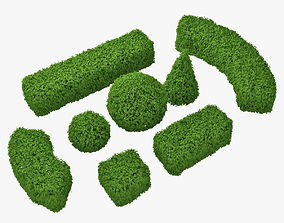 3D model hedge h60 set