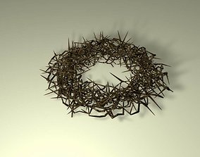 3D Jesus Crown of Thorns