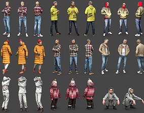 Stylized Characters Volume 2 3D model