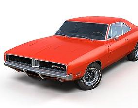Dodge Charger 1969 3D asset