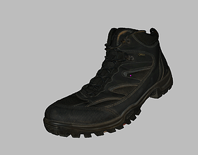 3D asset Trekking Shoe Geox