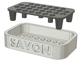 soap dish contemporary 3D printable model
