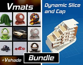 VMATS and DYNAMIC SLICE AND CAP for Blender textures 3D